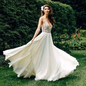 Hayley Paige Teresa Embellished Wedding Gown